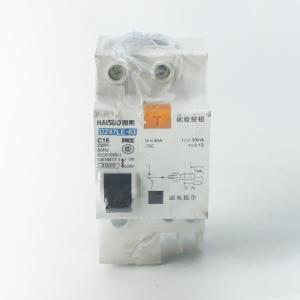 海索 漏电断路器 16A DZ47LE-63/1P