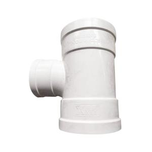 雄塑 PVC排水异径三通 75*50