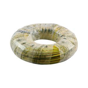 阳工 铜芯单塑单股电线 BV 16平方 双色 100M