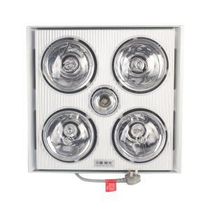 三雄极光 室内加热器 PAK-DNX43-03/Y 闪亮银色 四灯 1180W
