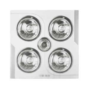 三雄极光 室内加热器 PAK-DNX43-01/Y 太空银色 四灯 1180W