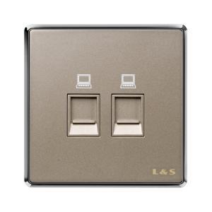 联塑电气 品致 二位信息插座 PZN02