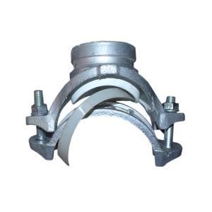 优质 沟槽衬塑机械三通 DN140