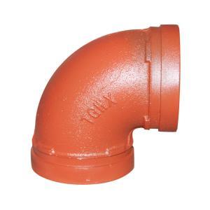 优质 沟槽90°弯头 DN219