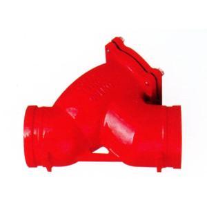 优质 沟槽过滤器 DN65