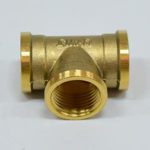 銅三通水暖配件水管分水器內絲管件管接頭