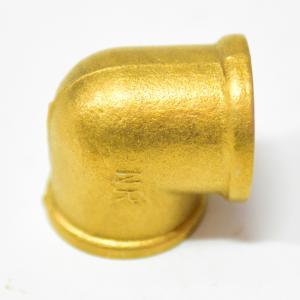 加厚 4分 45度内丝铜弯头 45度内牙铜弯头 水管铜弯头 铜接头