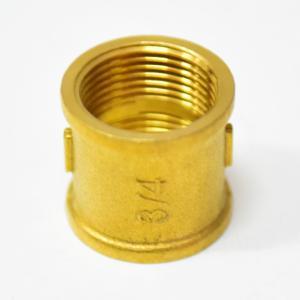 銅塑內螺紋直通穿板接頭隔板直通快插接頭6MM轉1/4內絲內牙接頭