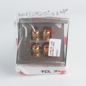 TCL罗格朗 尚韵 二位音箱插座 A9/M8/2-C2 缎沙金