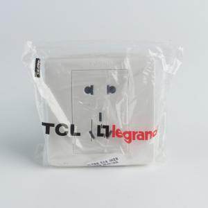 TCL罗格朗 美仑水 10A连体二三极插座 VRC426/10USL