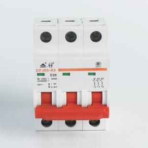 佳华小型断路器CFJ65-633P20AC型