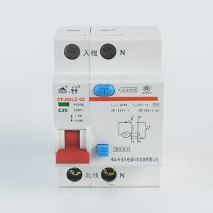佳华小型漏电断路器CFJ65LE-631P+N63AC型
