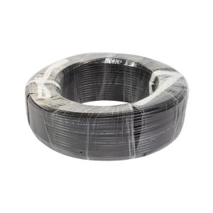 益达 普通聚氯乙护套软线(实套) RVV 2*1 黑色 100M