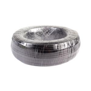 益达 普通聚氯乙护套软线(实套) RVV 4*6 黑色 100M
