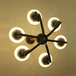 欧世顿 LED吊灯 6076-6 60W 调色