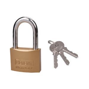 百锐 长梁仿铜锁 BT3306 32mm