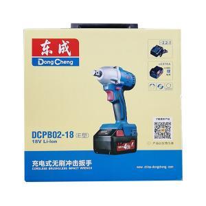 东成 冲击扳手 (18V锂电池4.0无刷) DCPB02-18E