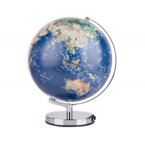 得力 地球儀 2164 藍色