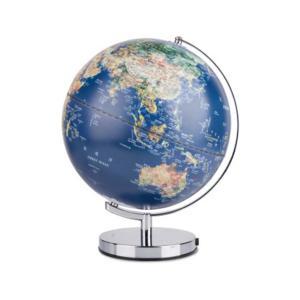 得力 地球儀 2165 藍色