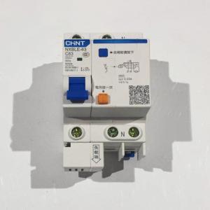 正泰 剩余电流动作断路器 NXBLE-63 1P+N/C63