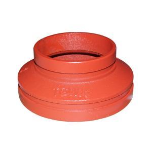 优质 沟槽异径管 dn125*80