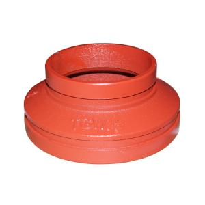 优质 沟槽异径管 dn125*100