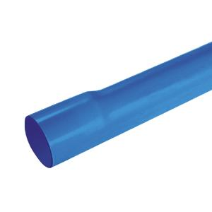 联塑 PVC-U给水扩直口管(1.0MPa)蓝色 dn75 4M