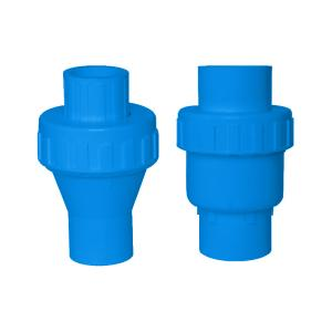 联塑 止回阀(PVC-U给水配件)蓝色 dn50