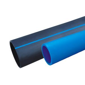 联塑 PE80给水直管(0.8MPa)黑色 dn125 6M