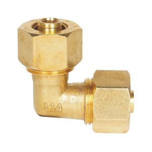 联塑 直角弯头(铝塑配件)镀镍 L1418×1418