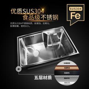 联塑 不锈钢环保水槽 CS12208