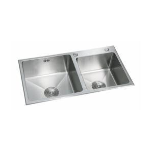 联塑 PSF006E水槽双槽304不锈钢