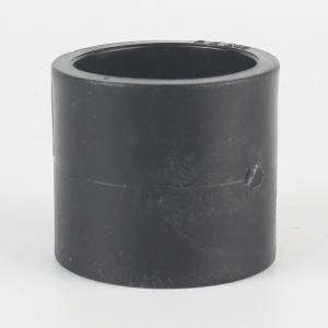 优质 PE给水承插直通 dn50 黑色
