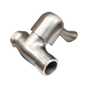 银超卫浴 304不锈钢直阀 8632(焊接)