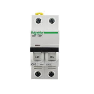 施耐德 小型断路器 IC65N 2P 63A C型