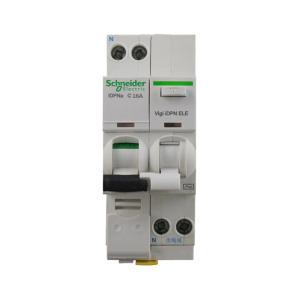 施耐德 漏电断路器 IC65N 1P+N 16A C型