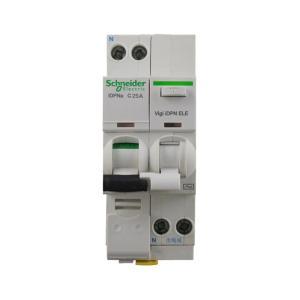 施耐德 漏电断路器 IC65N 1P+N 25A C型