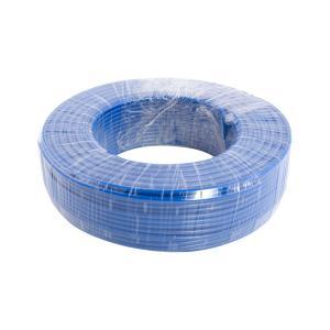 宏锐 铝芯单塑单股线 BLV 10平方 蓝色 100M