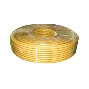 宏锐 铝芯单塑单股线 BLV 70平方 黄色 100M