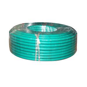 宏锐铝芯单塑单股线BLV95平方绿色100M