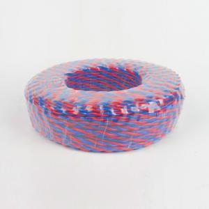 万安 阻燃铜芯双绞线(花线) ZC-RVS 2*1 (吸塑包装) 红蓝