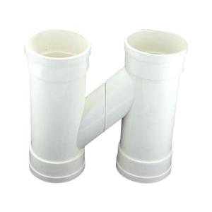 泰洲 PVC-U排水H管一体 dn110 白色
