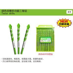 鑫功夫 麻花三角钻 XGF-SJZ6 6mm 绿色(英德)