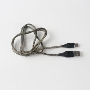 TREQA 安卓数据线 type-c 1m 灰黑相间色