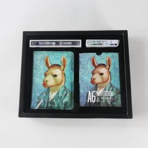 蓝果 64K手账本套装 LG-20725 动物名画系列