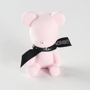 優質 汽車出風口香水 WN-1222 粉色小熊