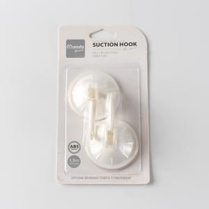 優質 簡單吸盤掛鉤 S-10006S-10006 中號 2支裝