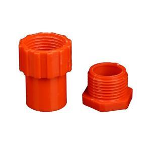 优质PVC-U锁扣dn20红色