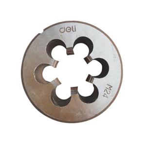 得力 DL3612 合金钢圆板牙 M12