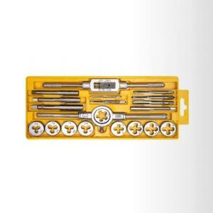 得力 DL0028 20件套丝锥板牙